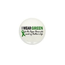 I Wear Green 2 (Brother's Life) Mini Button (10 pa