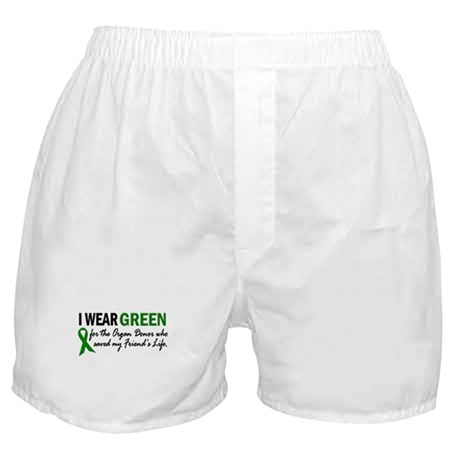 I Wear Green 2 (Friend's Life) Boxer Shorts