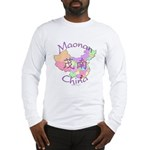 Maonan China Map Long Sleeve T-Shirt
