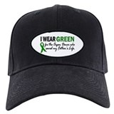 I Wear Green 2 (Father's Life) Baseball Hat