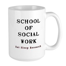 Cute School social worker Mug
