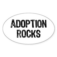 Adoption Rocks Decal