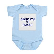 Property of Alisha Infant Creeper