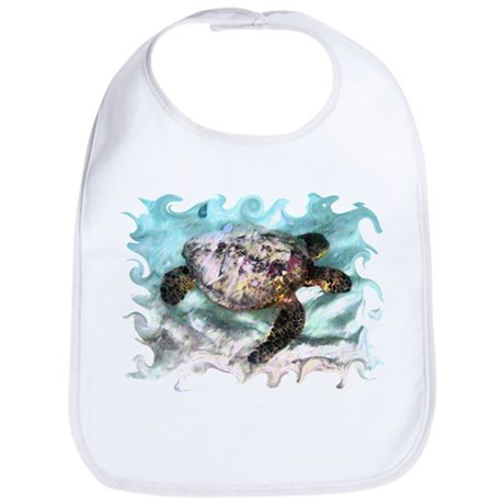 Swimming Sea Turtle Bib