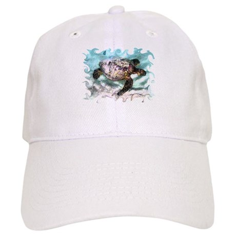 Swimming Sea Turtle Cap