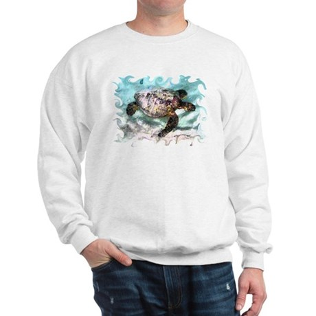 Swimming Sea Turtle Sweatshirt