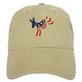 Patriotic democratic donkey Hat