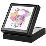 Shunde China Map Keepsake Box