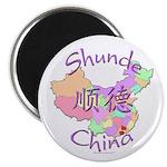 Shunde China Map Magnet