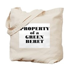 Property of a Green Beret Tote Bag