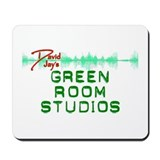 David Jay's Green Room Studio Mousepad