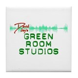David Jay's Green Room Studio Tile Coaster