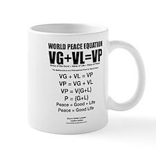 WORLD PEACE EQUATION Mug