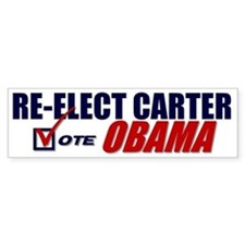 Re-elect Carter Bumper Stickers