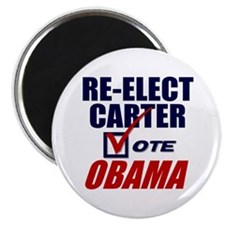 "Re-elect Carter 2.25"" Magnet (10 pack)"