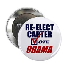 "Re-elect Carter 2.25"" Button"
