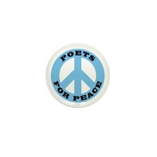 Poets For Peace Mini Button (10 pack)