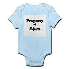 Property of Alan Infant Creeper