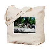 I LOVE NY Central Park Horse and Carriage Tote Bag