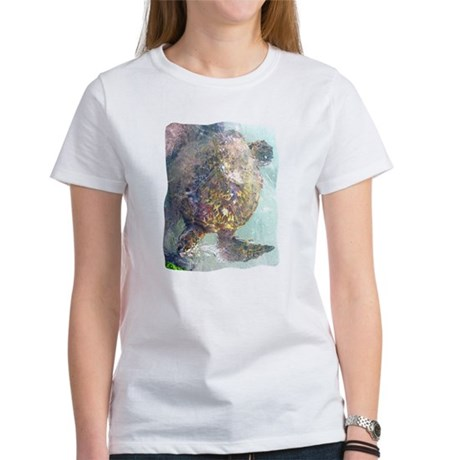 Watercolor Turtle Women's T-Shirt