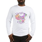 Yangjiang China Map Long Sleeve T-Shirt