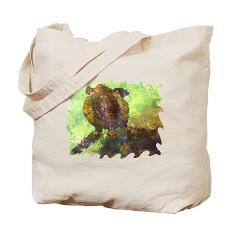 Turtle, Surfacing Tote Bag