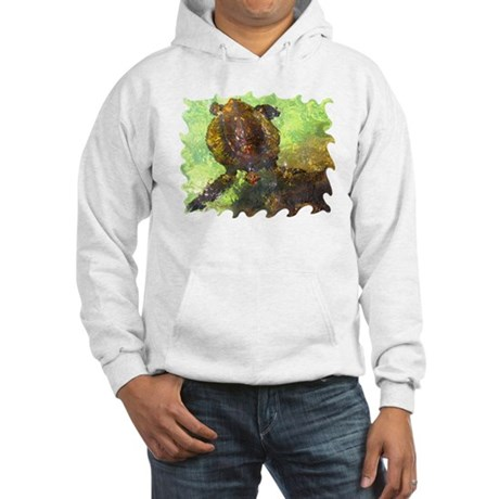 Turtle, Surfacing Hooded Sweatshirt