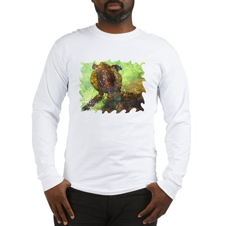 Turtle, Surfacing Long Sleeve T-Shirt