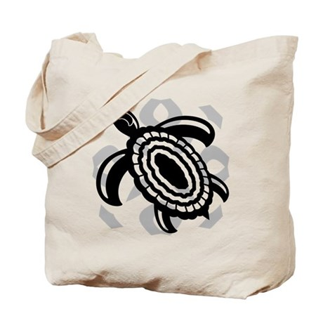 Cut Out Turtle Tote Bag