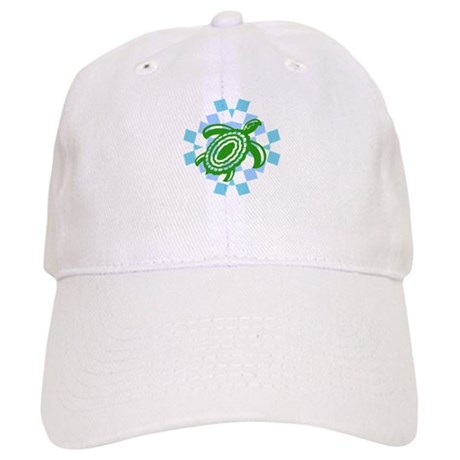 Green Cutout Turtle Cap