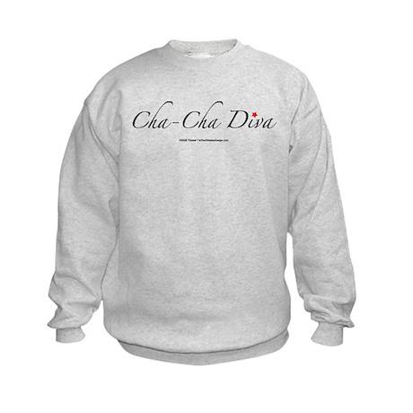 Cha Cha Diva Kids Sweatshirt