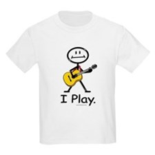 BusyBodies Acoustic Guitar Kids T-Shirt