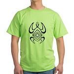 Turtle Symmetry Green T-Shirt
