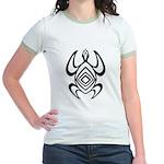 Turtle Symmetry Jr. Ringer T-Shirt