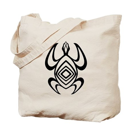Turtle Symmetry Tote Bag