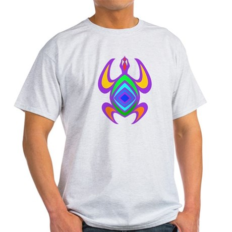 Turtle Symmetry Color Light T-Shirt