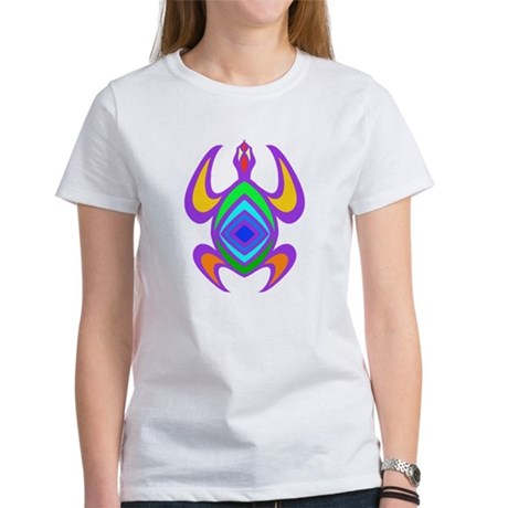 Turtle Symmetry Color Women's T-Shirt