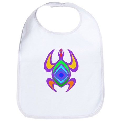 Turtle Symmetry Color Bib
