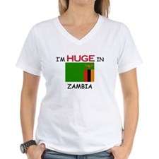 I'd HUGE In ZAMBIA Shirt