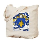 Dupuy Family Crest Tote Bag