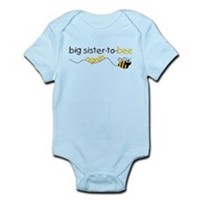 sister to be again t-shirt Infant Bodysuit