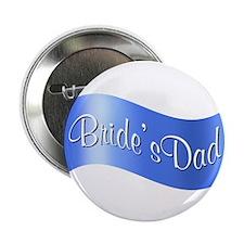 """Bride's Dad (flag) 2.25"""" Button"""