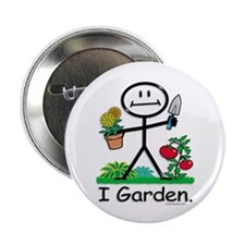 "BusyBodies Gardening 2.25"" Button (100 pack)"