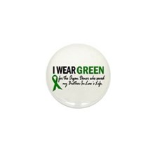 I Wear Green 2 (Brother-In-Law's Life) Mini Button