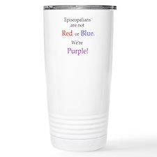 Episco-Purple Travel Mug