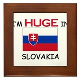 I'd HUGE In SLOVAKIA Framed Tile