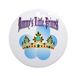 Mommy's Little Princess Keepsake (Round)