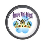 Mommy's Little Princess Wall Clock