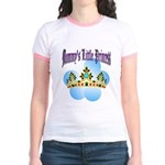 Mommy's Little Princess Jr. Ringer T-Shirt