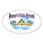 Mommy's Little Princess Oval Sticker
